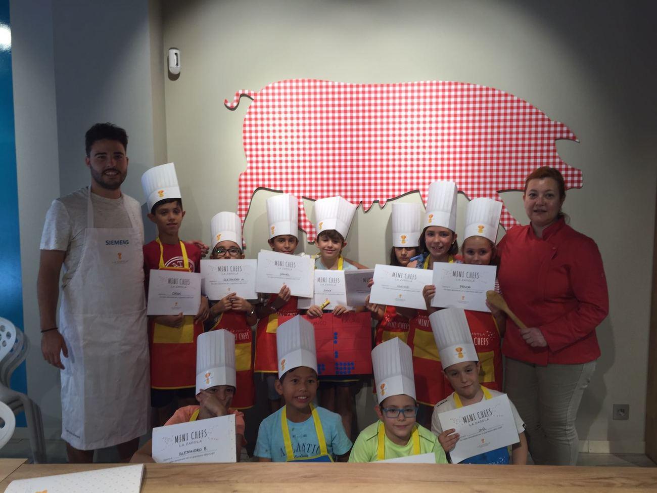 Curso de cocina para ni os en zaragoza un plan original - Escuela de cocina zaragoza ...
